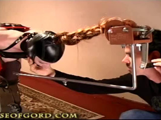 Taut bondage, predicament bondage and torture for super-fucking-hot slut