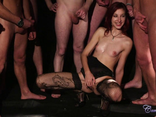 Mishka Devlin (Football Crew Mass ejaculation  23.01.2014)