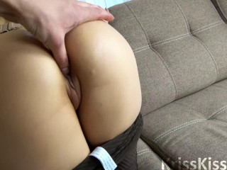 Rock hard Tough Hump with Internal ejaculation in Bootie POV