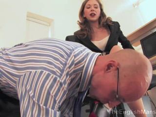 The English Building - Office Objectification - Domination HD
