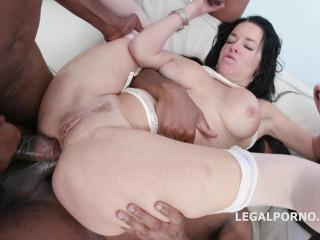 Sexy Veronica Avluv Gangbanged By 4 Big Black Cocks With Dap