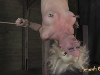 Inverted Suffering from Hell Pussy Torment & Skull Fucking Brutal Elbow Bondage!