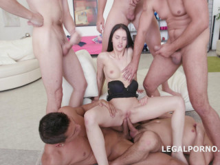 Crystal Greenvelle In Deep Anal Gangbang With Many Dicks