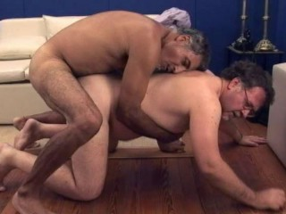 Super hot bears in hard anal party