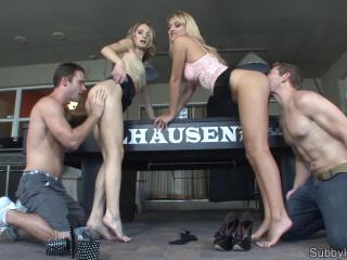 Natalie Starr, Natasha Starr Pool Hall Cucky Folks Arse Idolize (2014)