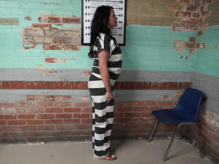 Gotcuffs - JJ's intake at new jail with guest prisoner Dominica