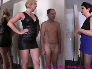 Brianna & Lola - Hubby Smashed By Wifey And Cuck Babysitter