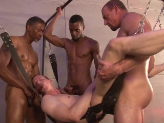 Dark Alley Media - Gang Fucked scene 3