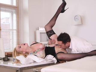 Hot Nurse Needs Doc's Dick