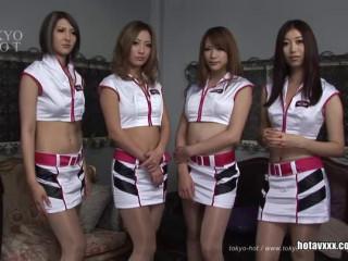 AIKA, Makiko Tamaru, Mako Nagase, Kurea Asuka