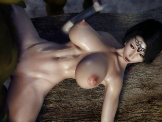 XXX Three dimensional Secret of Hottie Orc Ritual