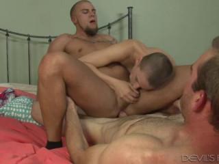 Hot Threesome Jonah Marx, Eli Hunter & Riley Nixon (400p)