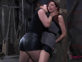 Super bondage, spanking and torture for sexy slavegirl part 1