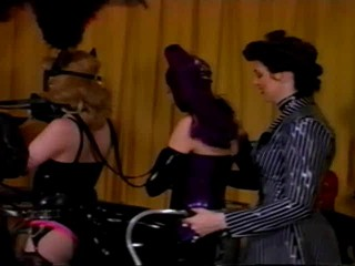 Amanda Wildefyre's Rubber Slaves - Rubber Ponies #2