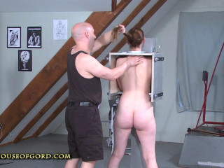 Sierra Cirque Locked In The Coco Restrain bondage Cage part 1 - HD 720p