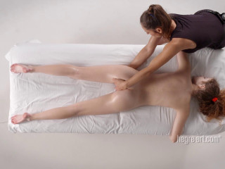 Heidi - Uncontrolled Orgasm Rubdown