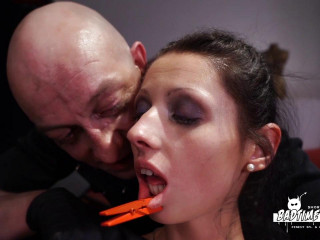 Scorching German marionette babe July Sun gets bound and tormented in intense