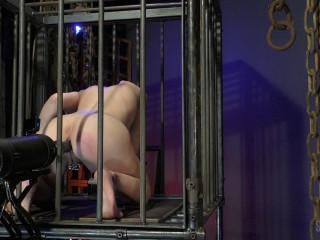 Sensualpain - Caged Anal Sex Machine