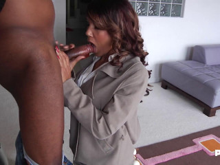 Nice Black Cock In Anjanette'S Ass