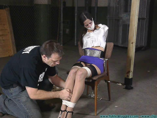 Cruel Gag after Gag for Litterbug McBitch 2 part - Extreme, Bondage, Caning