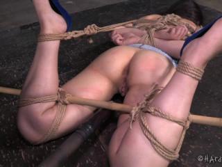Cable Restrain bondage Amy Faye