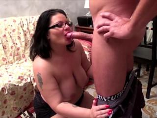 Crazy anal swinger fucking with mature Italian BBW Pamela T.