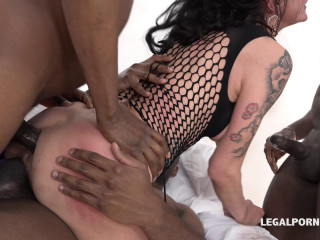 Interracial Gangbang With Double Anal For Lyna Cypher