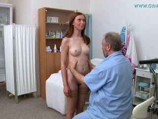 Linda (19 years girl gyno exam)