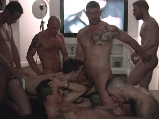 Europe orgy with hottest studs