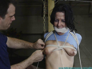 Hannah Perez Carried Groped Hogtied and Gagged Multiple Times 2 part
