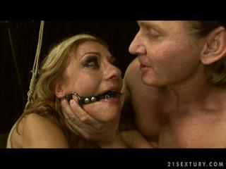 Domination of the Innocent Greta - Extreme, Bondage, Caning