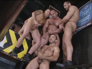 Rocket Orgy With Double Anal Penetration