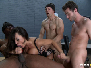 Lisa Ann - Dangerous Minds With Dangerous Penises