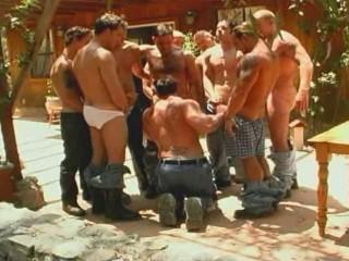 Duke Miller's Lumberjack Gang Bang