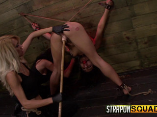 StraponSquad - Jul 10, 2015 - Isa Mendez Earns Another Lezzie domination Three-way