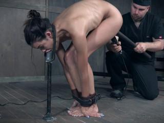 Wet Restrain bondage Pummel For Eden Sin