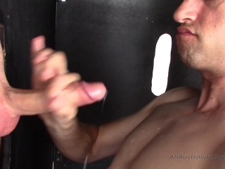 AllAustralianBoys - Tyler (4) - Tyler deepthroated off by James