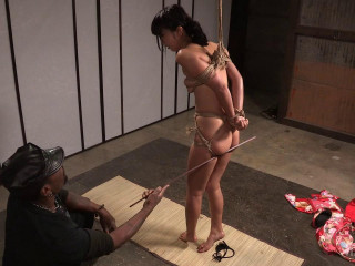Asian restrain bondage and subjugation