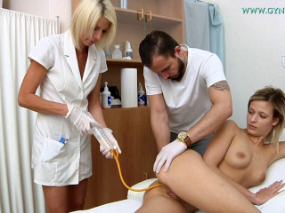Ria Sunn (20 years girl gyno exam)
