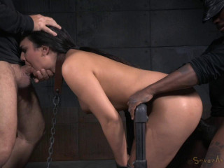 Paisley Parker - Corded in Tool Restrain bondage and Toughly Fucked!(Jul 2015)