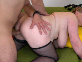 Silana - chubby mature lady doing her toyboy FullHD 1080p