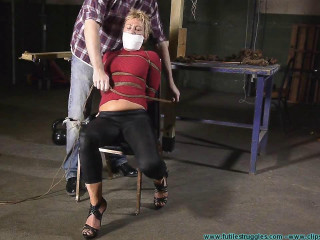 Alice's First Ever Hogtie - Part 1