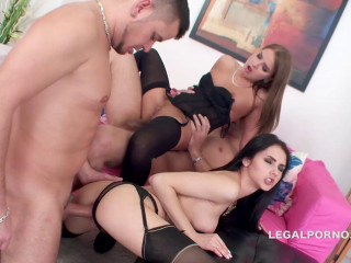 Double Addicted 3 On 2 Ass to mouth conspiracy Cum-swapping And Gulp GIO149