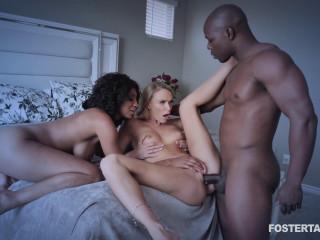 IR Threesome With Schoolgirls September & Emma