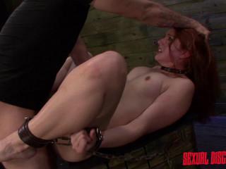 Rose Crimson - Bondage & discipline Cockslut Rose Crimson Tyrell Endures Raunchy Assfuck Hookup (2015)