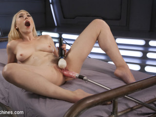 Super-hot Ash-blonde Lily LaBeau is Machine Porked