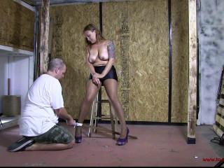 Toaxxx - tx170 More Knocker Restrain bondage Predicament bondage for Brenda Roped
