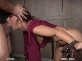 Hot Milf Syren De Mer Enjoys Bondage Fuck & Deepthroat