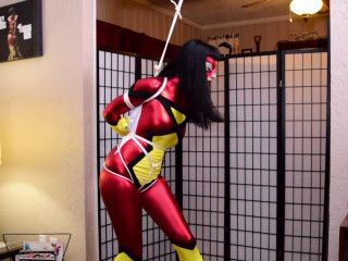 Nyxon SpiderWoman Bound