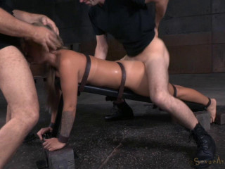 Madelyn Monroe - Culo Up and Toughly Fucked With Brutal Deepthroat!